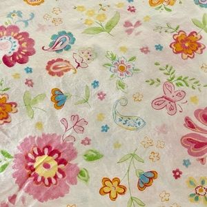 Pottery Barn CAESAREA Floral Butterfly Twin Sheets